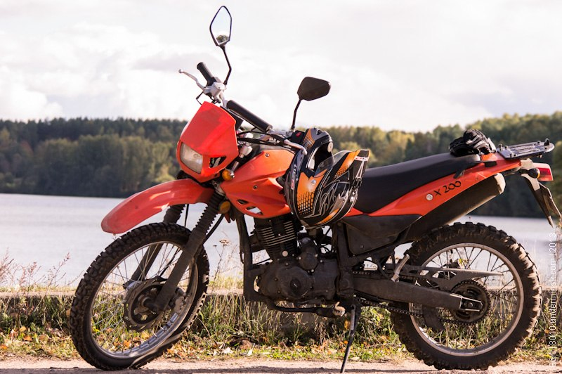 Обзор мотоцикла Minsk x200